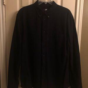 Men's XL Long sleeve H&M shirt